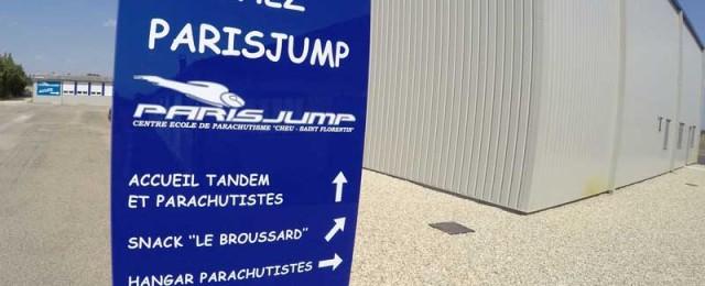 saut en parachute Paris Jump
