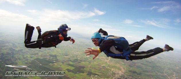 Baptème de parachutisme Paris initation PAC