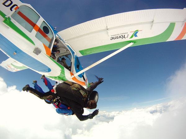 parachutisme upmc